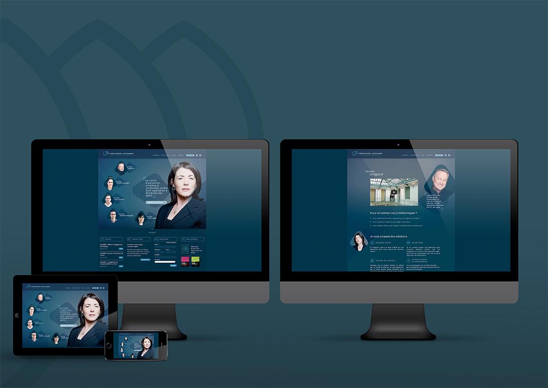 Agence Takestwo : nouveau site web pour Véronique Messager