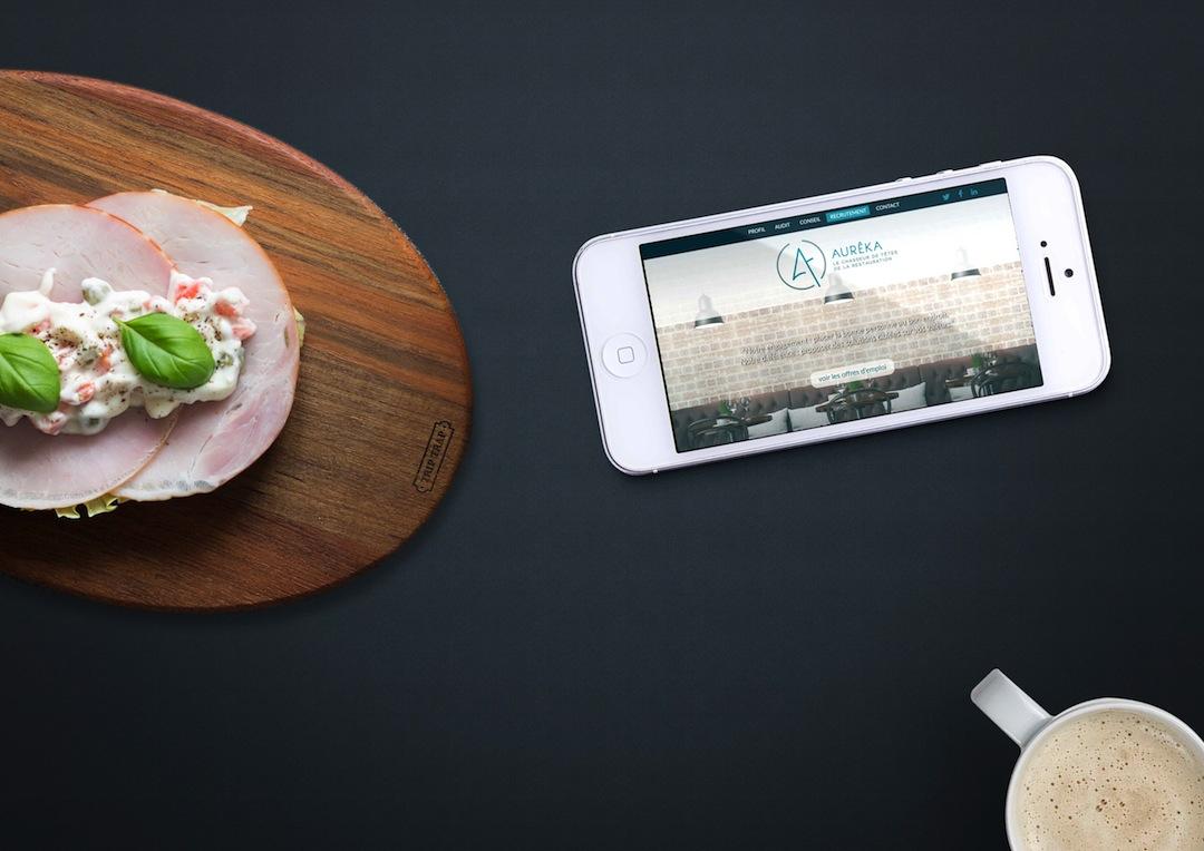 Webdesign responsive pour Aureka