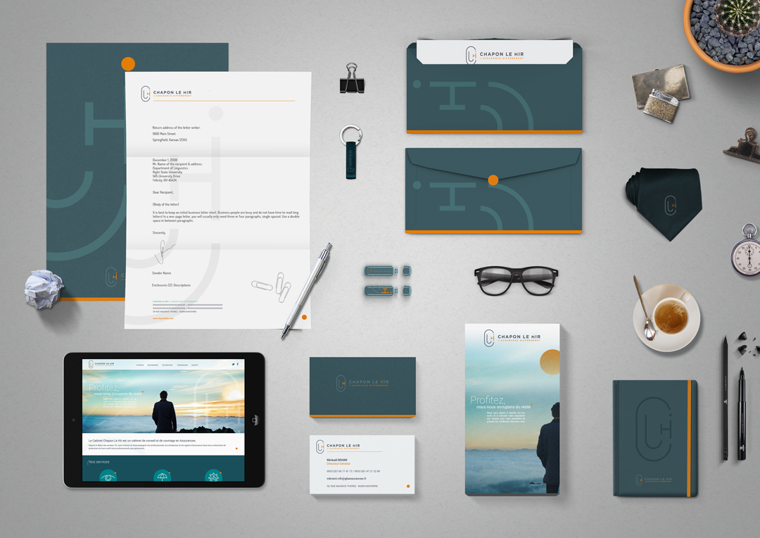 Agence Takestwo : création de l'identité visuelle de Chapon Le Hir