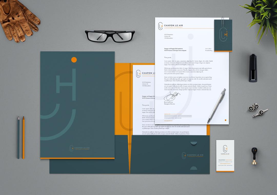 Agence Takestwo : design et impression papeterie de Chapon Le Hir
