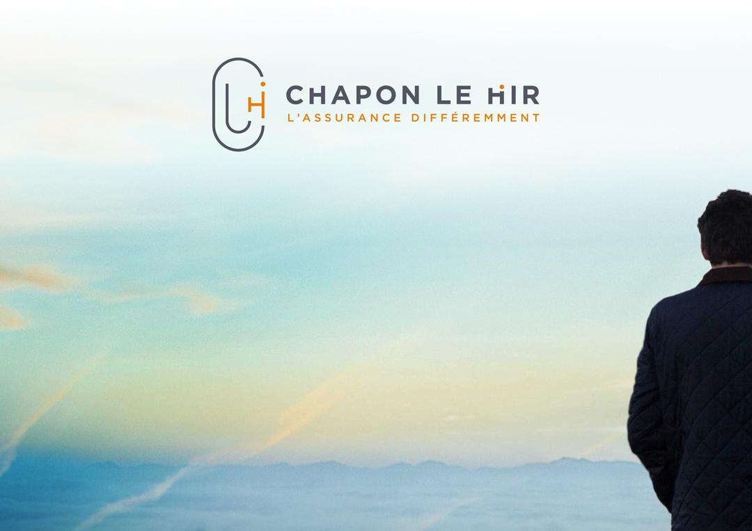 Agence Takestwo : design du logo Chapon Le Hir