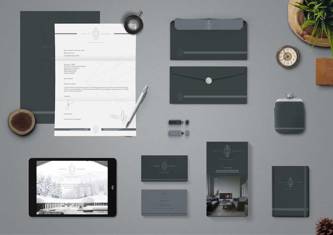 Agence Takestwo : création de l'identité visuelle de Arvin Bérod