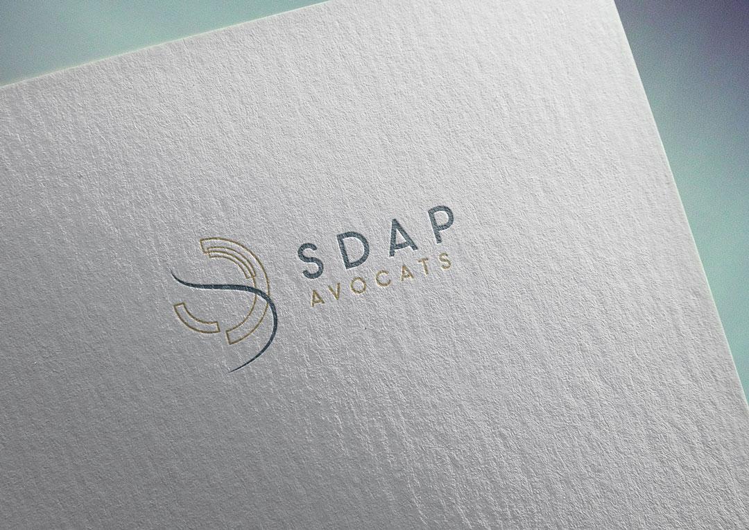 Agence Takestwo : concept et logo pour le cabinet d'avocats SDAP
