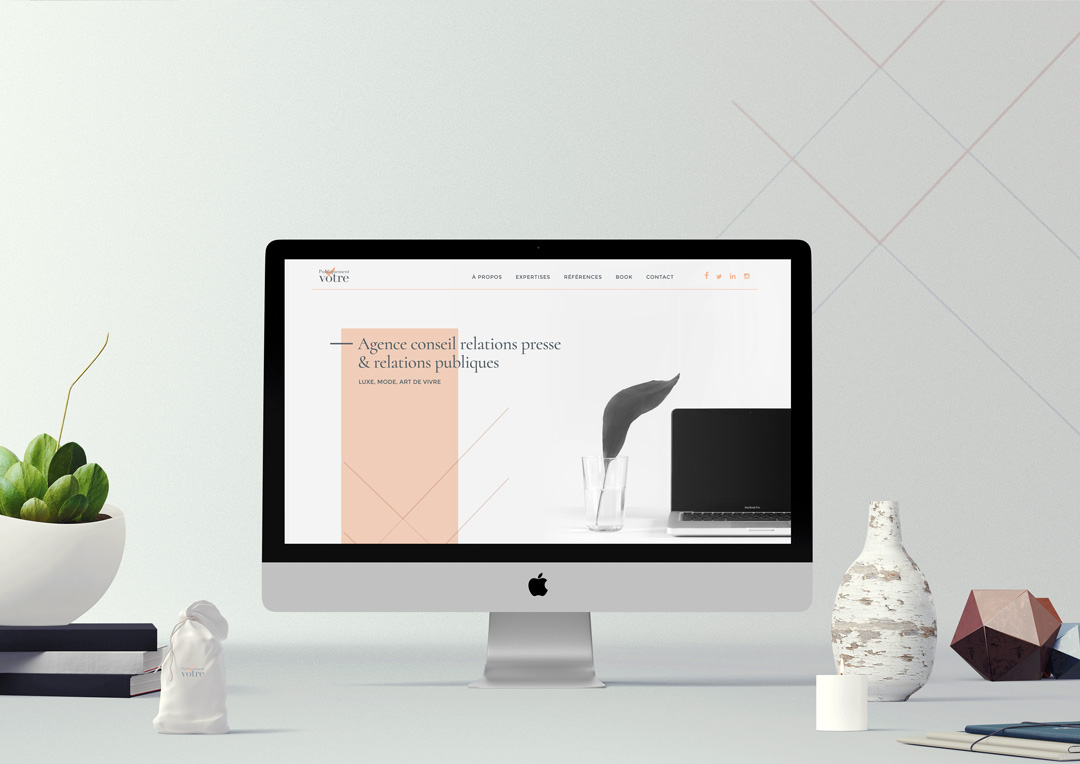 Agence Takestwo : refonte du site web de l'agence Publiquement Vôtre